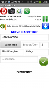 BuzoneoGPS - Inaccesibles
